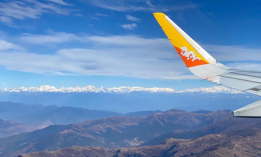 Vols vers le Bhoutan