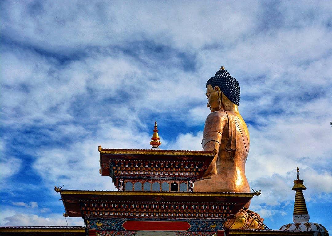 Le Bouddhisme est très présent dans la vie des bhoutanais