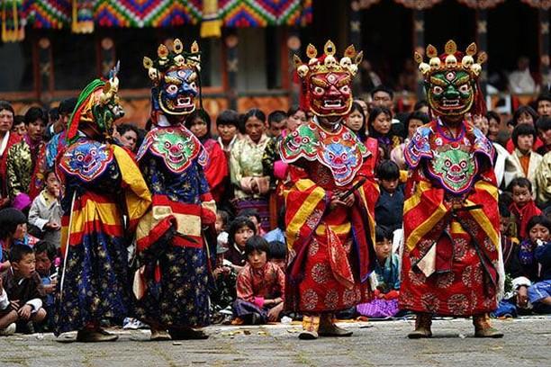 Les festivals au Bhoutan